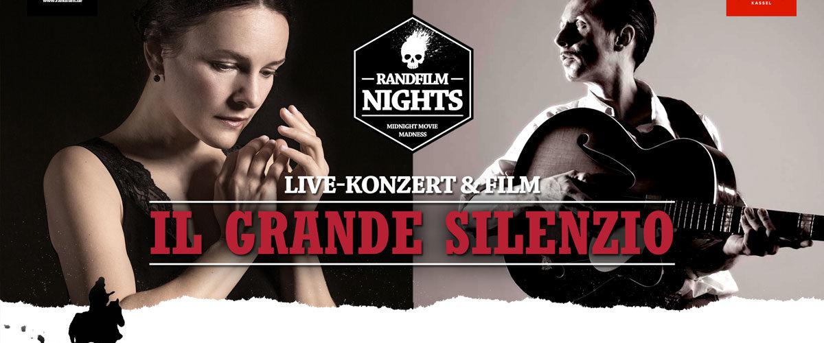 """Live-Konzert & Film: """"Il Grande Silenzio"""""""