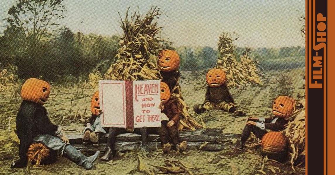 Das ist der Horror - Filme leihen an Halloween.